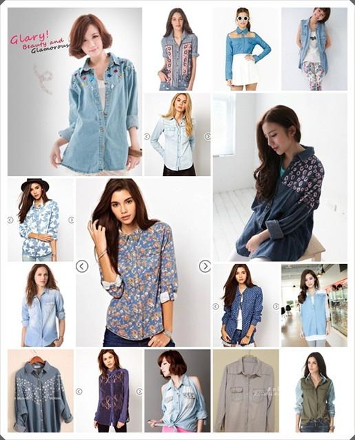 【慾望清單】Denim Shirt,20件分享