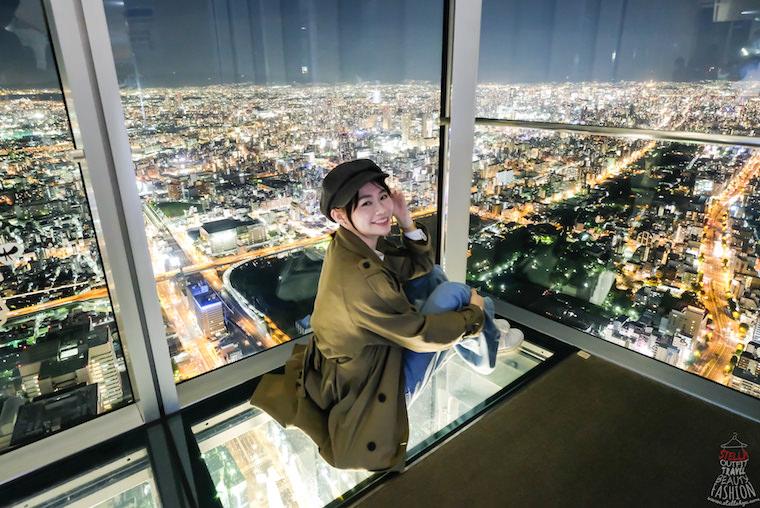 【大阪必去景點】阿倍野 HARUKAS 300展望台,超誇張百萬夢幻夜景,浪漫到爆炸!