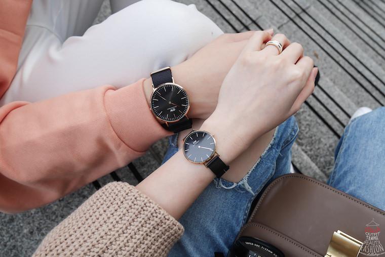 【對錶推薦】DW最新聖誕節折扣碼「dw520」,快去選最時尚dw黑錶當聖誕禮物吧!(情侶錶推薦)
