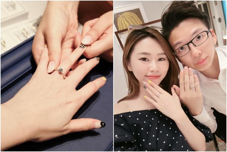 【婚戒】日本頂級半訂製鑽戒,GINZA DIAMOND SHIRAISHI銀座白石婚鑽戒試戴分享