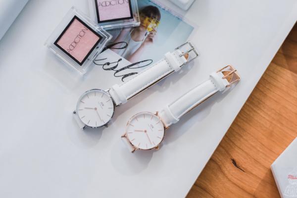 【DW手錶開箱】2020最新DW Classic Petite Bondi新款白錶帶,簡約北歐風超好搭-Daniel Wellington