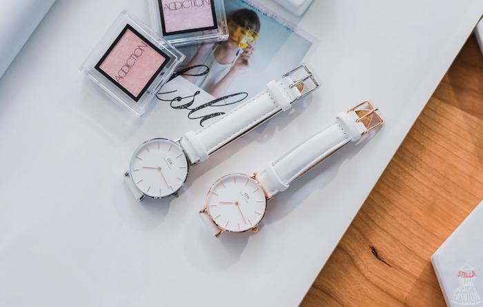 【DW錶開箱】2019DW Classic Petite Bondi新款白錶帶,簡約北歐風超好搭-Daniel Wellington