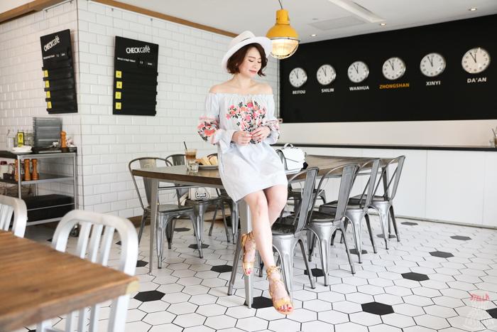 【日穿搭】民俗風刺繡洋裝+星星涼鞋+SHOPBOP折扣推薦