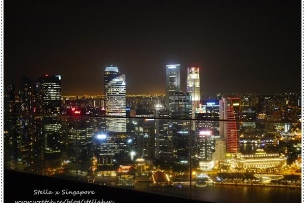 【新加坡】Marina Bay Sands濱海灣金沙酒店,購物中心+無邊界泳池