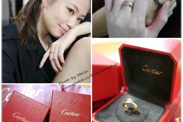【精品】經典中的經典,生日禮物Cartier Trinity(三環戒)
