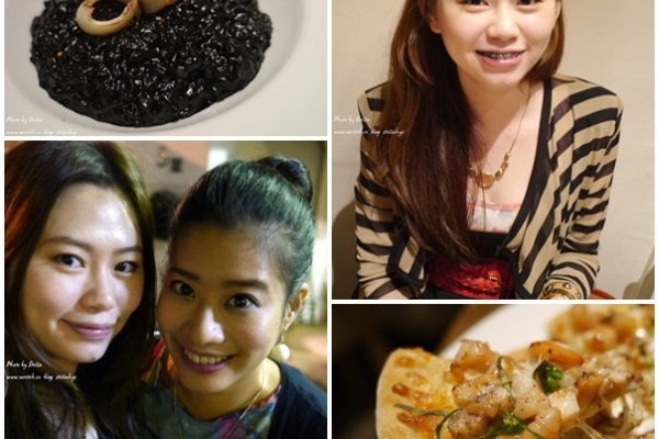 【食。台北市府捷運旁】黑米CAFE BISTRO,吃了會滿嘴黑的美味義式餐廳