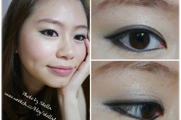 【眼妝】今年秋冬就畫上甜美輕煙燻妝,襯托流行的皮革&鉚釘