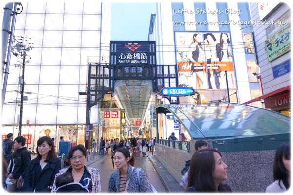 【大阪】逛街小地圖,心齋橋, 道頓崛, 美國村, 梅田