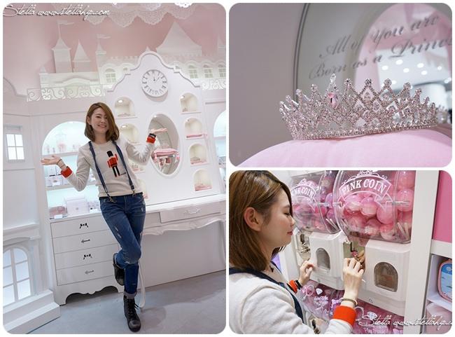 【韓國首爾】明洞。超級夢幻的Etude House 2號店,Princess Fantasy