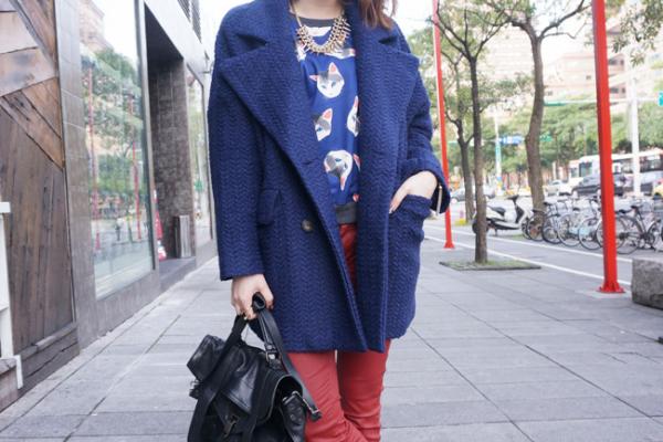 【Daily Outfit Recap】Nov.,終於開始冷了!