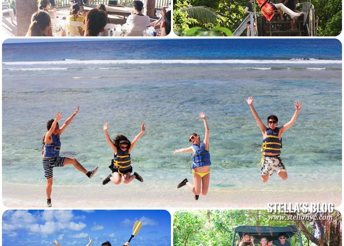 【關島】星砂俱樂部,關島上最美的海灘,浮潛/叢林越野/高空Zip Line三合一行程好好玩~