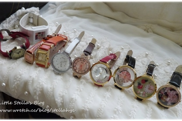 【私物】日常佩戴的10支手錶,穿搭中搭配的都在這喔