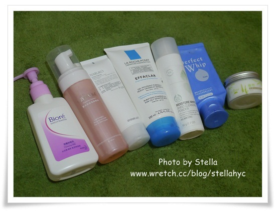 【清潔】最近愛用的七款卸妝洗臉品分享