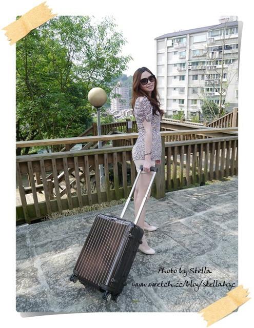♥開箱♥我的精品輕旅行,RIMOWA Salsa Deluxe巧克力色登機箱