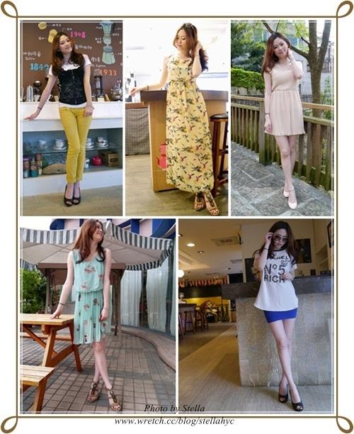 ♥血拼♥最近買的洋裝、上衣,邁入初夏5套穿搭分享