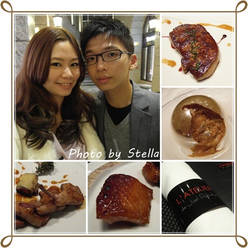 ♥台北♥當個小貴婦,米其林星級侯布雄 L'ATELIER de Joël Robuchon 法式餐廳,好奢侈(羞)