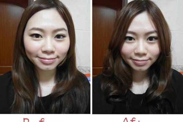 ♥Hair♥簡單一步驟,臉蛋瞬間小一號
