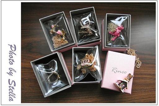 ♥飾品♥韓國來的Rinco也太夢幻可愛了吧(尖叫)