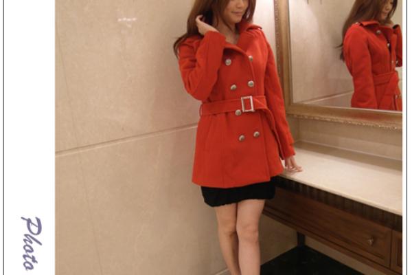 ♥穿搭♥女孩們的秋冬Mina's紅色絮語,三套穿搭分享
