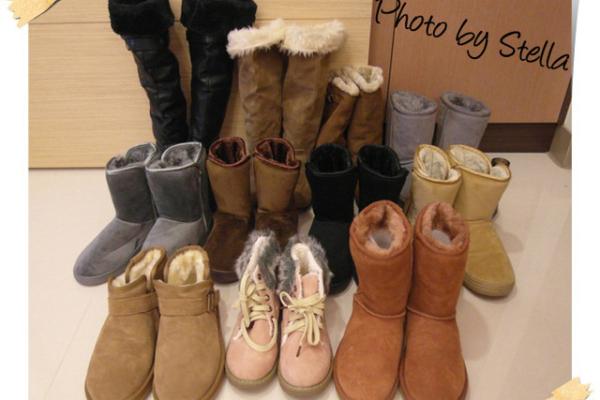 ♥血拼♥秋冬不能沒有雪靴,我的11雙雪靴分享