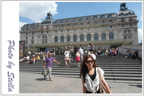 ♥旅遊♥來法國怎能不逛美術館,奧塞、橘園、龐畢度