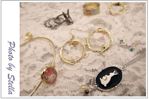 ♥飾品♥質感與獨特並存的APM超可愛日系雜貨風飾品