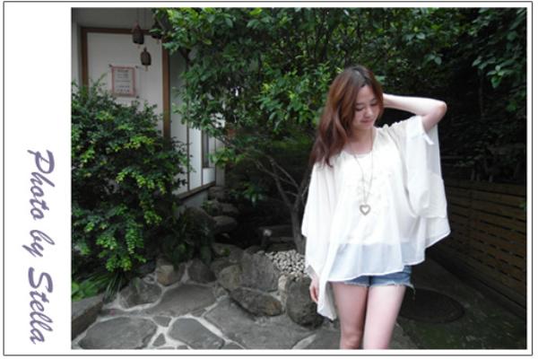 ♥穿搭♥日系高質感Lisa Lisa,夏末白色系女孩好感度穿搭