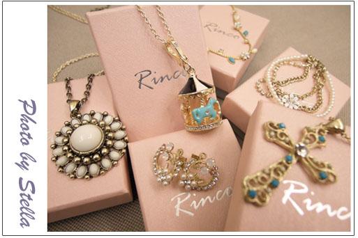 ♥穿搭♥琳果Rinco飾品,平價高質感的女孩可愛飾品