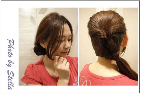 ♥Hair♥手殘女編髮Part 2,兩分鐘內迅速完成的兩款髮型