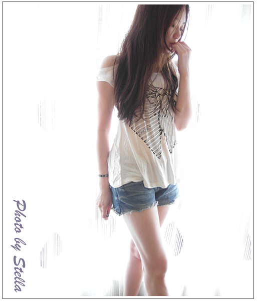 ♥穿搭♥kokoblack韓貨,超顯瘦的牛仔短褲&好看炸的西外在這裡