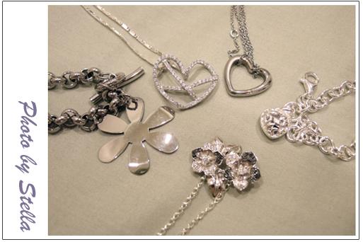 ♥穿搭♥專屬於我的破銅爛鐵銀飾,終於擁有我最想要的誕生石手鏈了