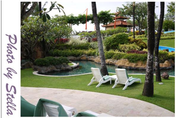♥旅遊♥緩慢悠閒華麗,峇里島君悅渡假酒店