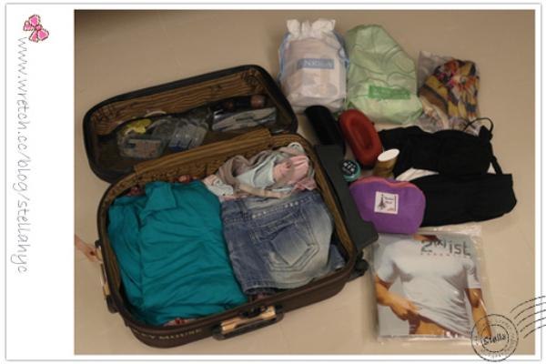 ♥居家♥一窺Stella出國去峇里島前的行李箱,裡面到底裝了什麼?