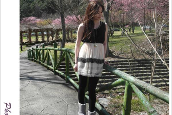 ♥穿搭♥春裝第一發,在夢幻星光遇見洋裝