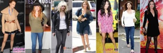 ♥穿搭♥一起來學好萊塢明星怎麼穿,7件重點單品穿搭