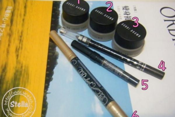 ♥彩妝♥Stella平常用的眼線產品大公開