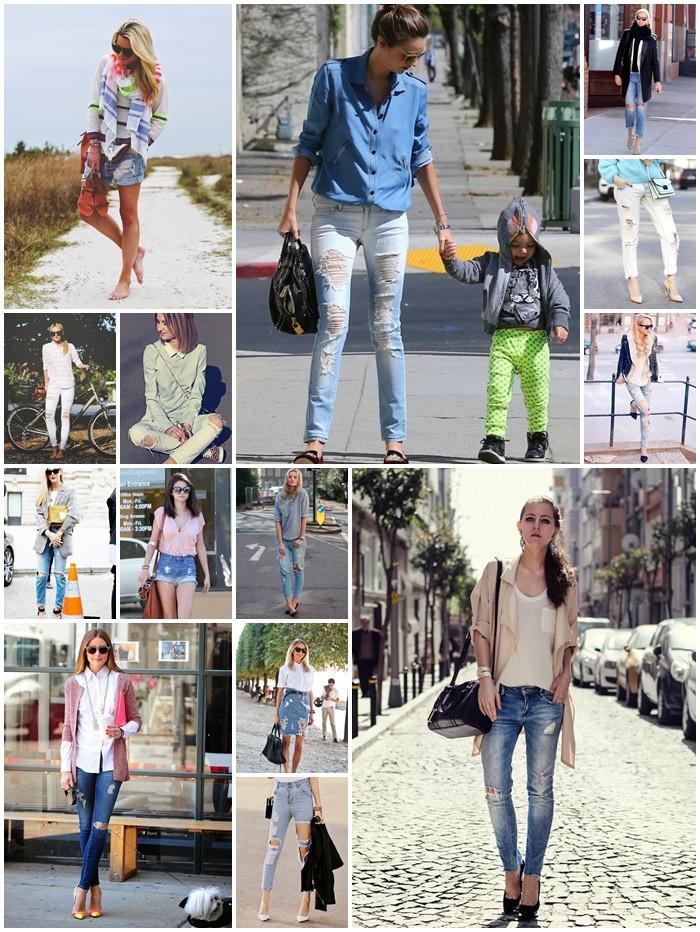 【LOOKBOOK】2014春夏必備破褲(distressed jeans),女孩們擁有了嗎?