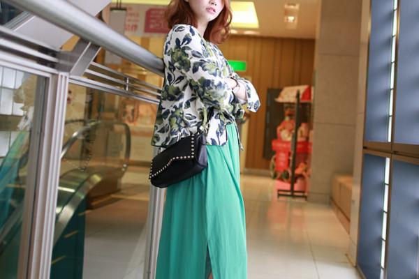 【日穿搭】曼谷小叢林感,原來綠色也能很優雅度假風