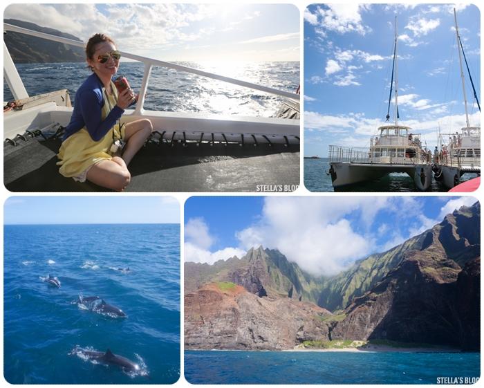 【夏威夷-可愛島】Na Pali Coast遊艇巡航,阿凡達幻境般壯觀海岸線