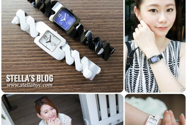 【輕精品】來自巴黎時尚優雅的BIBA碧寶錶-純粹晶瓷系列