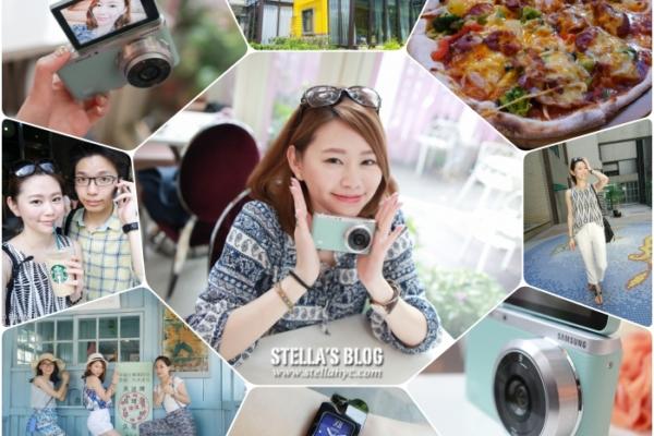 【3C】超迷你輕薄可換鏡頭微單眼Samsung NX mini(薄荷綠),隨時拍下生活中的小確幸♥︎