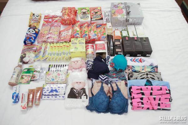 【泰國。曼谷】2014購物戰利品,買了好多零食跟香氛