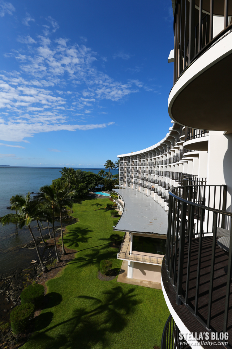 【夏威夷-大島】住。Hilo Hawaiian Hotel,離機場、火山公園近,位置方便又乾淨