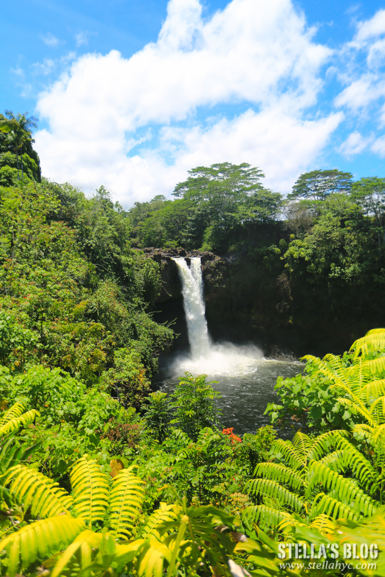 【夏威夷-大島】當地人才知道的平價早餐Blane's Drive Inn+希洛市區附近必去的Rainbow Falls彩虹瀑布
