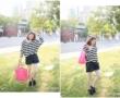 【穿搭】韓貨。Angel's Ballet,小奢華的秋,遇見最美的黑色小洋裝!!
