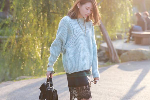 【穿搭】韓貨。Aimee,就用繽紛粉嫩的穿搭來渡過冬末,準備迎接早春吧:)