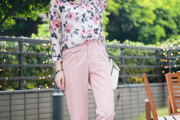 【日穿搭】春天,總是讓人沈浸在戀愛甜美的粉色氛圍中♥︎