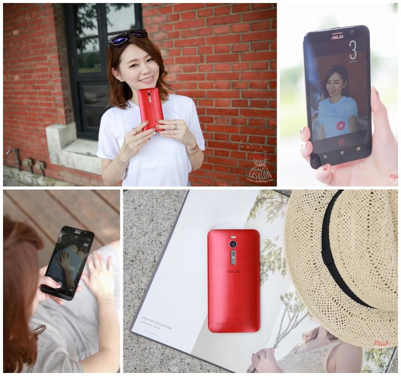 【3C】超值又時尚的ASUS ZenFone 2,手機也可以拍出自拍神器的美肌感唷!!