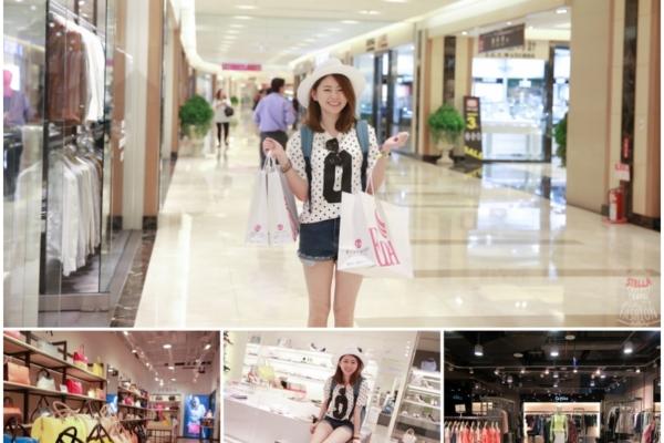 【逛街】姐妹最適合一起逛義大世界Outlet Mall,折扣超殺,真的是搭高鐵來都划算呀!!
