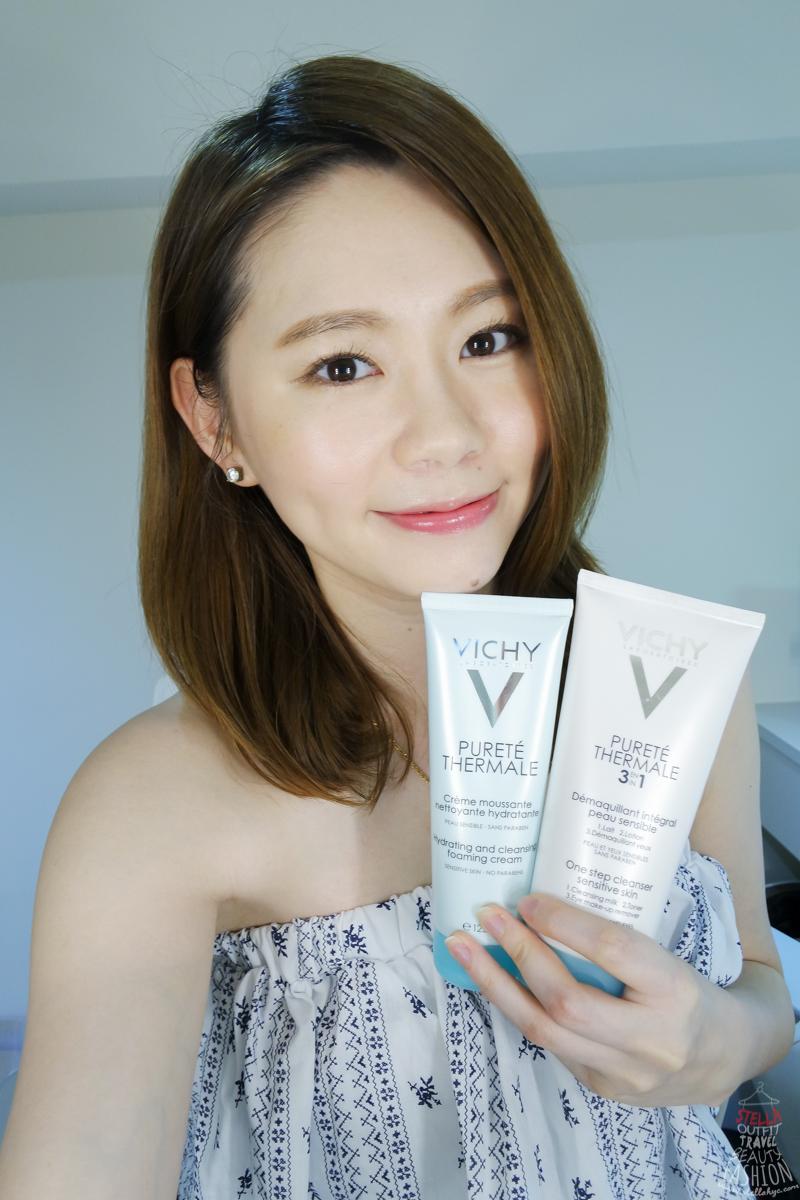 【卸妝洗臉】薇姿VICHY淨化深呼吸,溫和卸妝洗臉給肌膚最完美的原始純淨!!